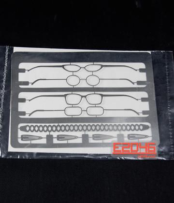 Metal Etched Glasses Set 2