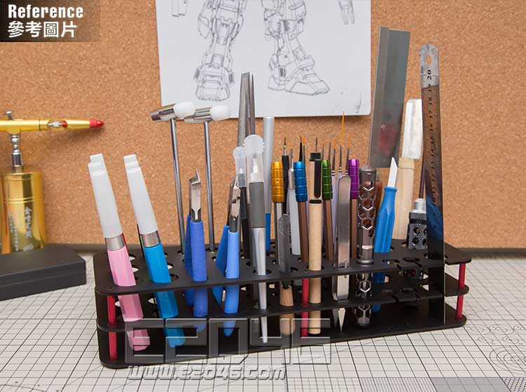 Black Modeling Tool Holder