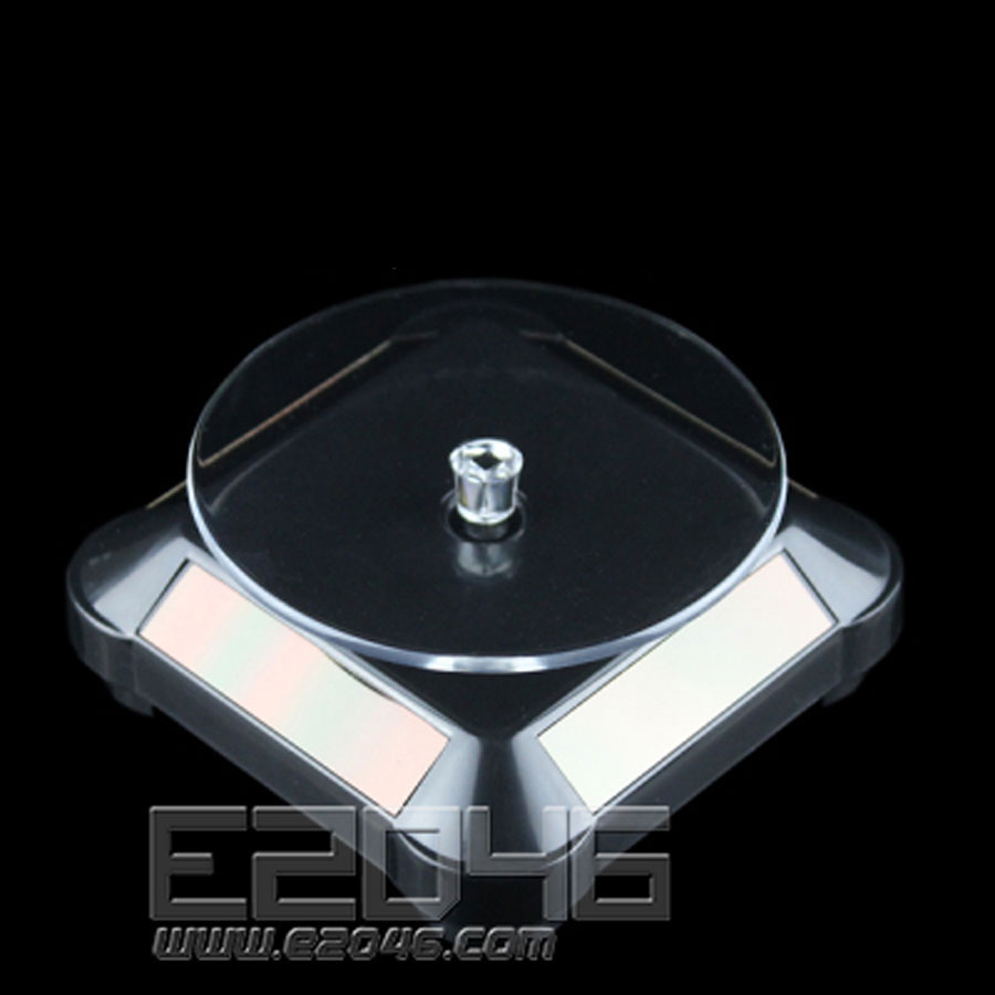 Black Rounded Auto Rotating Display Base D9