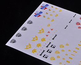 AC2165 1/144 Gundam Zeon Decal Sheet 4
