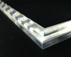 AC1710  Acrylic Base Square L14 Transparent