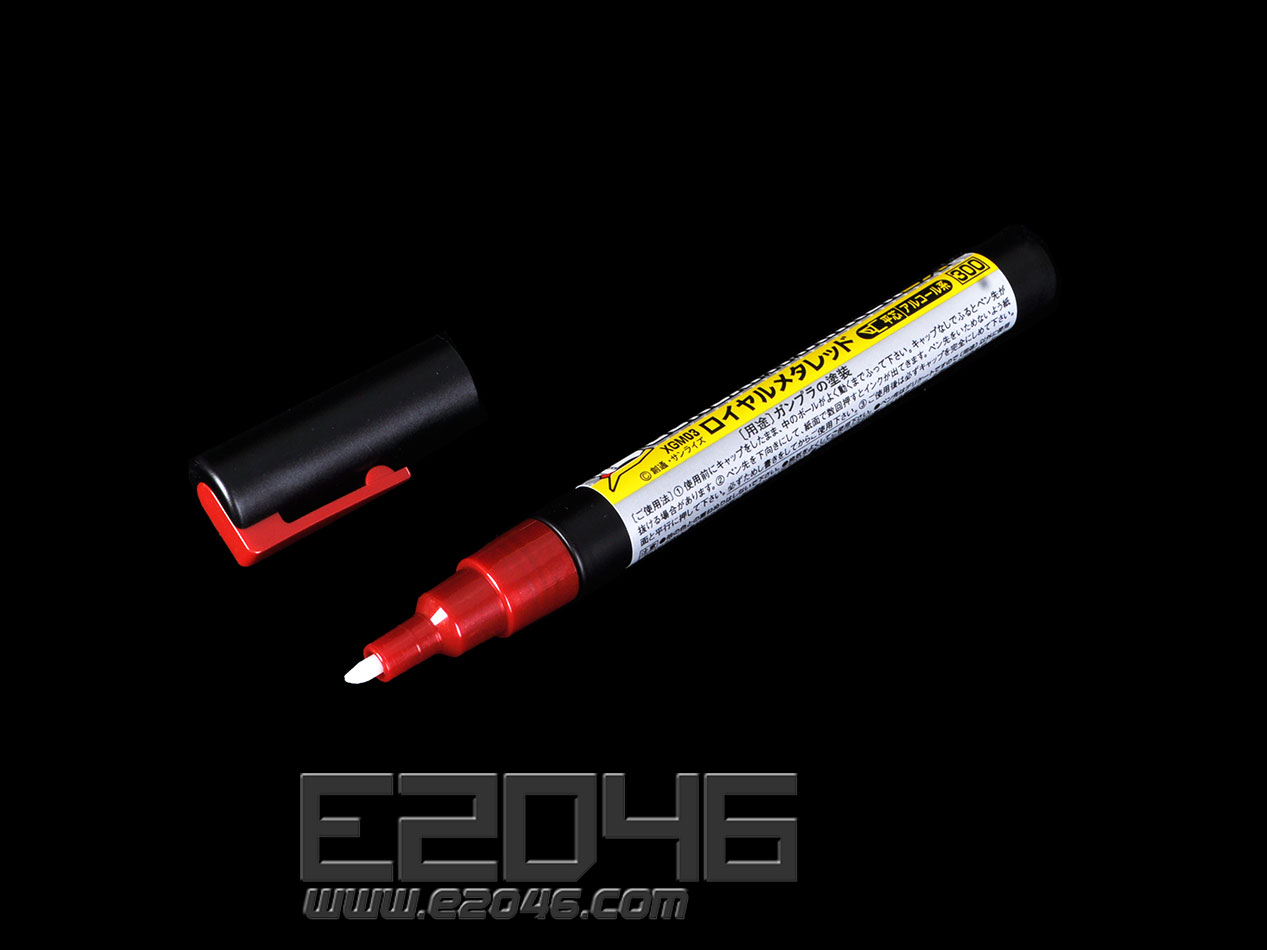 Marker Pen Metal Red