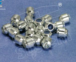 AC1929  Alluminium-Made Beads (Basic Coating) 7 x 7 mm