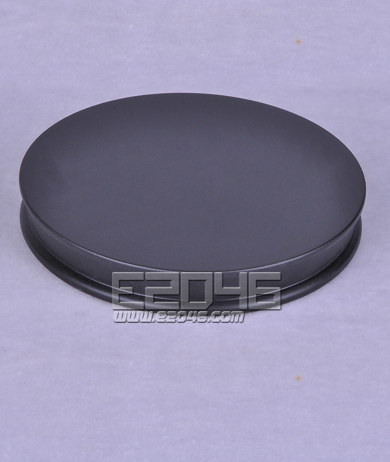 Black Round Wooden Display Base D12
