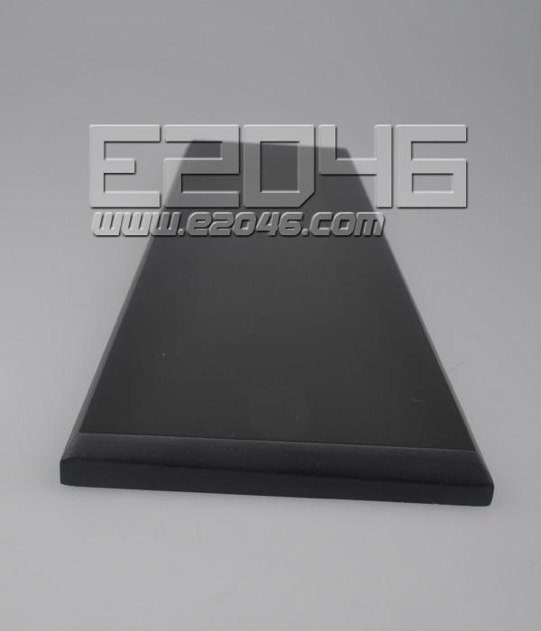 L40 Black Rectanglular Wooden Display Base