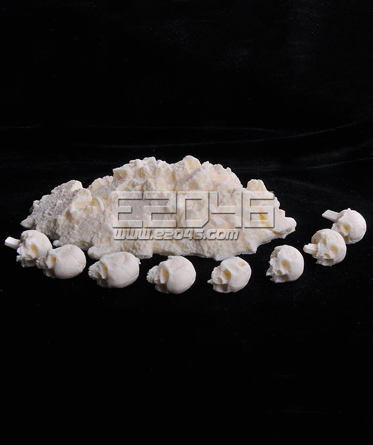 Skulls Resin Display Base L15