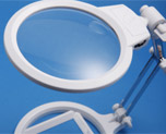 AC2012  Swing-arm LED Magnifier with Scale
