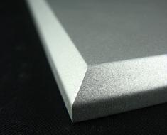 AC1709  Acrylic Square L14 Full Silver