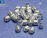AC1928  Alluminium-Made Beads (Basic Coating) 5 x 5 mm