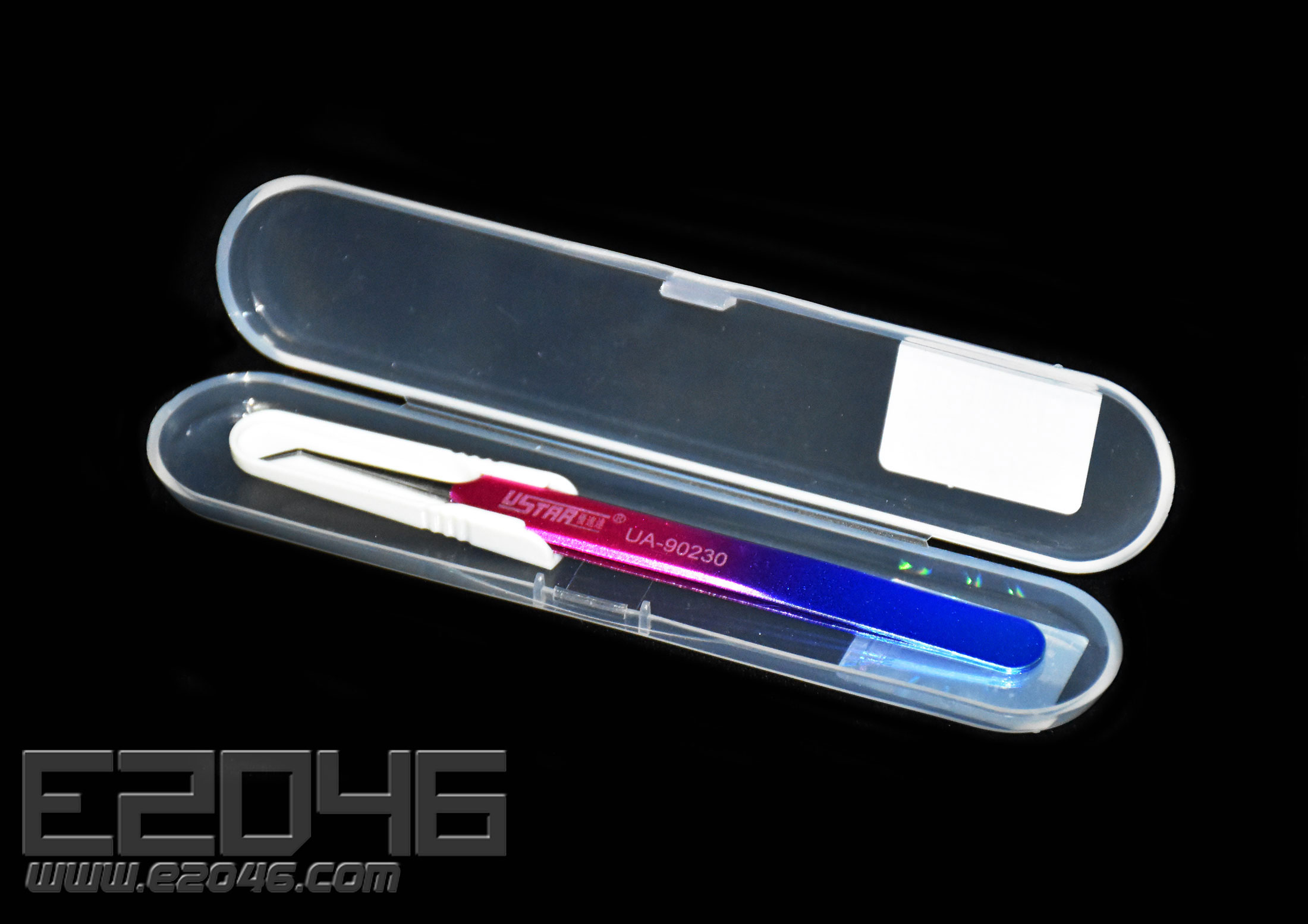 Color Precision Curved Tweezers For Model