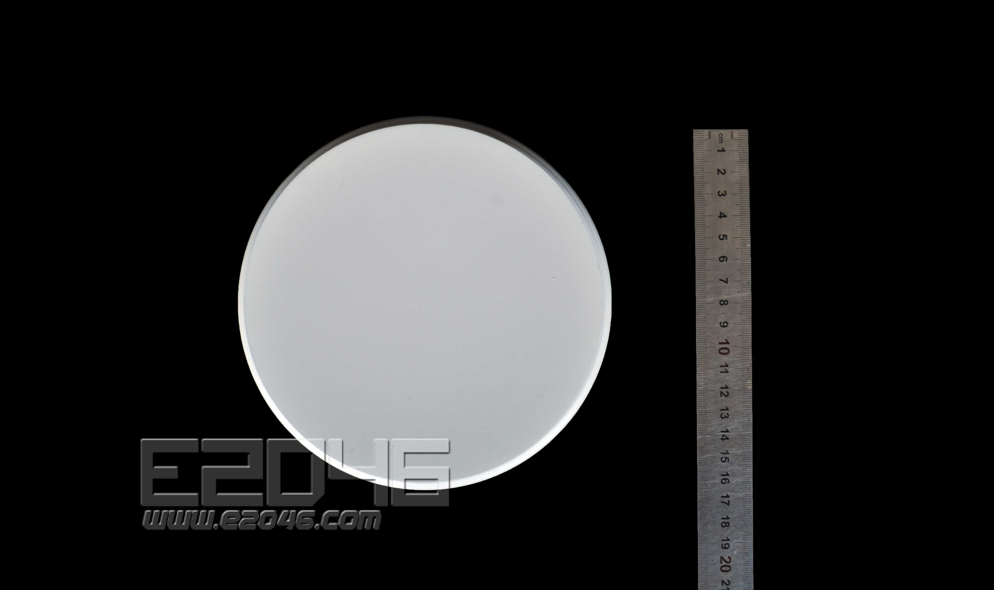 White Round Plinth Wooden Display Base D15