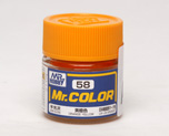 AC1044  Mr. Color C-58 Orange Yellow