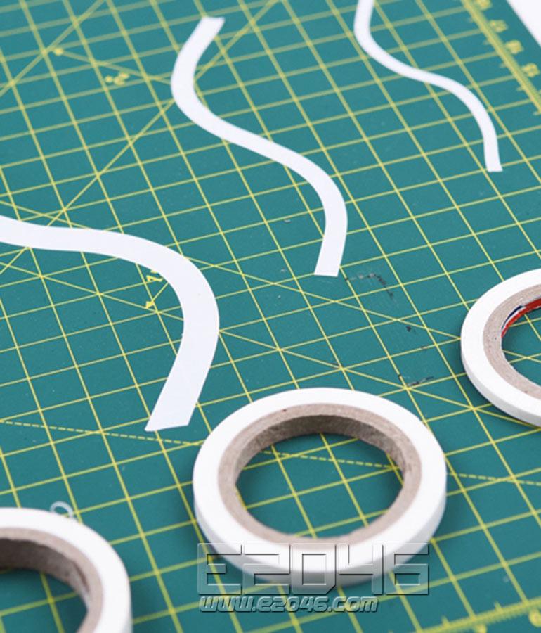 曲线遮盖胶带 5mm
