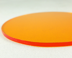 AC1680  Acrylic Display Base Round D9 Orange