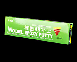 AC2463  Quick Type Model Epoxy Putty (Red)