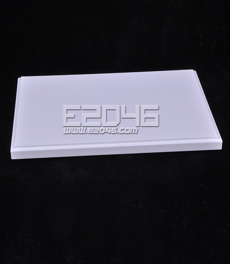White Rectangular Wooden Display Base L19