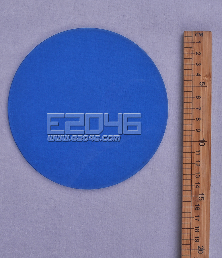 Light Blue Round Acrylic Display Base D15