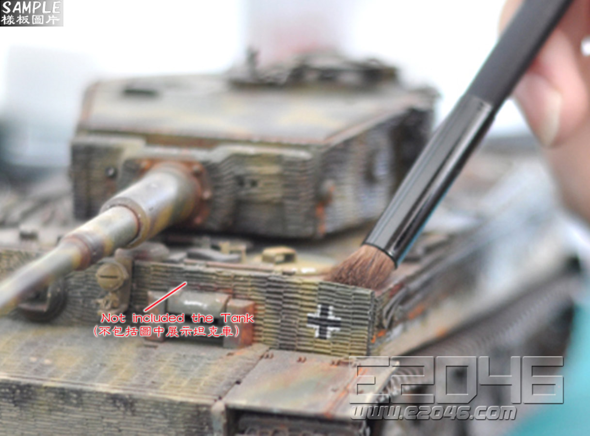 Brush for Weathering Use