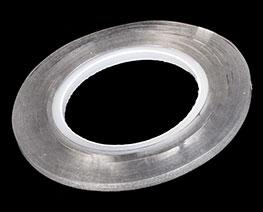 AC2472  透明硬边刻线胶带 3mm
