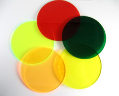 AC0634  Acrylic Display Base Round D9 Assorted color