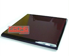 AC0674  Acrylic Display Base Square L14 Slope Edge