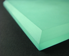 AC1714  Frosted Surface Acrylic Base Square L14 Green