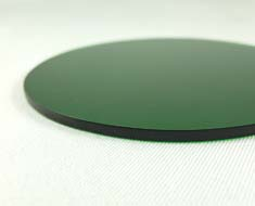 AC1678  Acrylic Display Base Round D9 Green