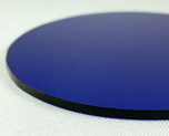 AC1681  Acrylic Display Base Round D9 Blue