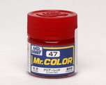 AC1033  Mr. Color C-47 Clear Red