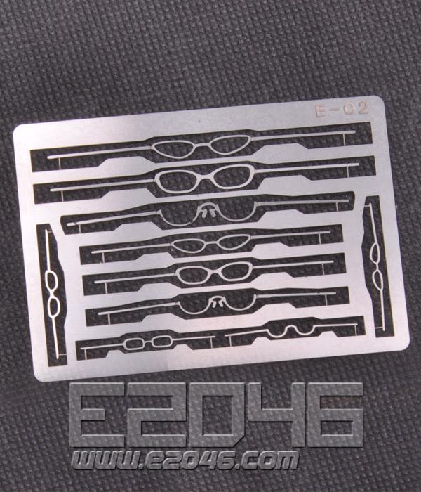 Metal Etched Glasses Set 4