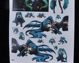 AC2142  Hatsune Miku Decal Sheet