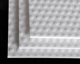 AC2428  Flat Clear Abrasive Piece