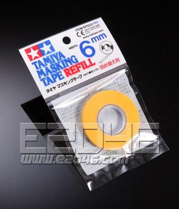 田宫 6 mm 遮盖胶带 补充装