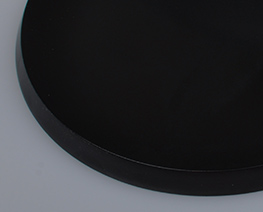 AC2040  Black Round Wooden Display Base D14