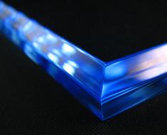 AC1711  Acrylic Base Square L14 Blue