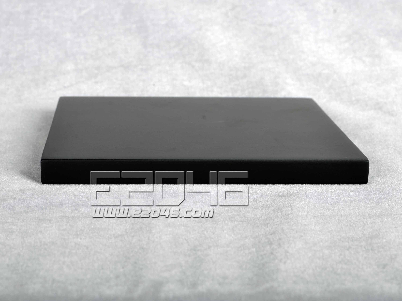Black Square Wooden Display Base L12