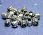 AC1927  Aluminium-Made Beads (Basic Coating) 9 x 9 mm