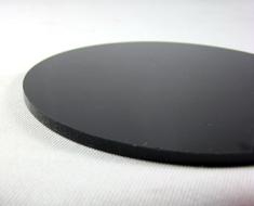 AC1746  Acrylic Display Base Round D9 Dark Black