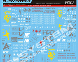 AC1892  Decal Sheet for Hi-Nu