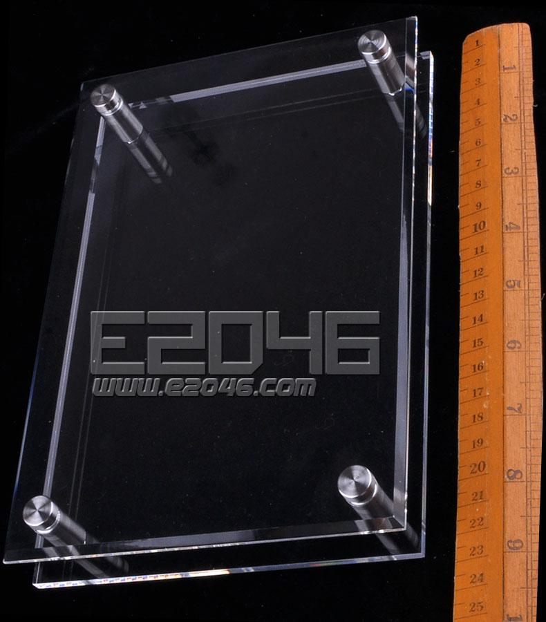 L22 Double-Layer Transparent Rectangular Acrylic Display Base