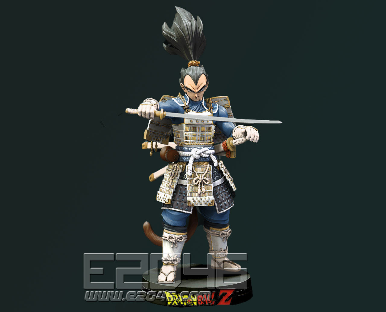 Vegeta Samurai Version