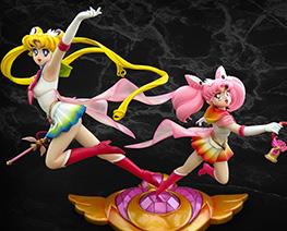 FG7504 1/5 Super Sailor Moon and Chibi Moon
