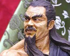 FG2573  Chinese Swordman Bust