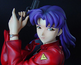 FG1135 1/6 Misato with Handgun on Knees