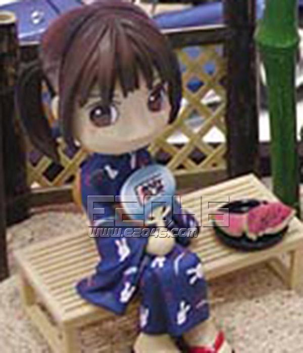 Cutie Japanese Girl Sitting