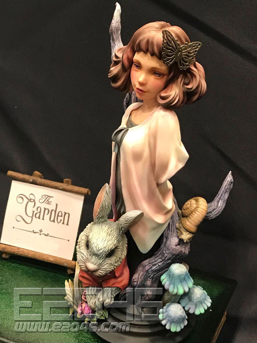Garden Girl Bust