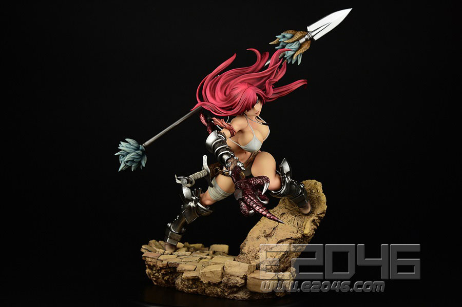 Erza Scarlet The Knight Version