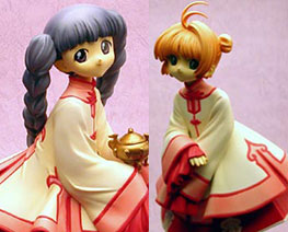 FG5140 1/6 Sakura and Tomoyo Chinese Dress