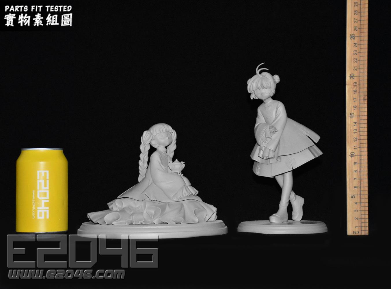 Sakura and Tomoyo Chinese Dress