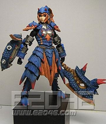 Lagiacrus Armor Hunter